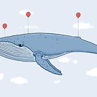 The Whale In The Sky by crabro
