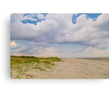 Sullivans Island Beach Day Canvas Print