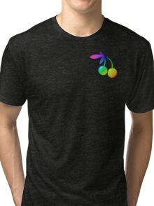MLP - Cutie Mark Rainbow Special – Cherry Berry V2 Tri-blend T-Shirt