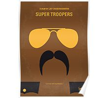 No459 My Super Troopers minimal movie poster Poster