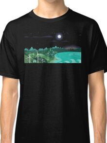 Rembulan : The Moon Over The Village Classic T-Shirt