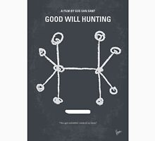 No461 My Good Will Hunting minimal movie poster Unisex T-Shirt