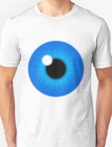 ฺBlue iris perfect eye Unisex T-Shirt