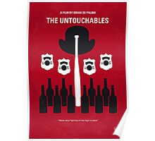 No463 My The Untouchables minimal movie poster Poster