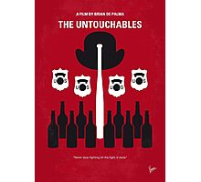 No463 My The Untouchables minimal movie poster Photographic Print
