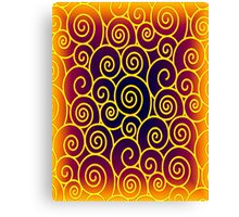 Curly Sue 3 Canvas Print