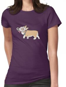 Corgi Cubone Womens Fitted T-Shirt