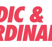 MUFC duo_ VIDIC & FERDINAND Sticker