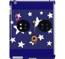 Buttoned Eyed Coraline with Starry Background iPad Case/Skin