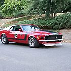 1970 Ford Mustang Boss 302 by DaveKoontz