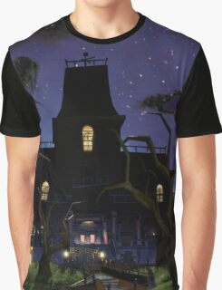 The Moon And The Castle Graphic T-Shirt