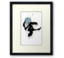 Mercenary Katrina Ink Framed Print