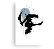 Mercenary Katrina Ink Canvas Print