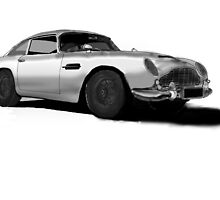 Aston Martin DB5 by Radwulf