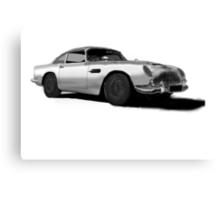 Aston Martin DB5 Canvas Print
