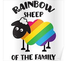 Rainbow sheep of the family Poster