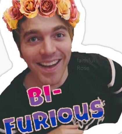 Shane Dawson - Bi - Furious Sticker
