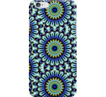 Bold Blues pattern iPhone Case/Skin