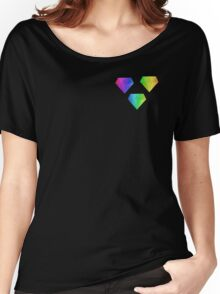 MLP - Cutie Mark Rainbow Special – Amethyst Star V2 Women's Relaxed Fit T-Shirt