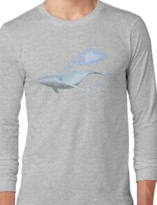 The Whale And The Cloud Long Sleeve T-Shirt