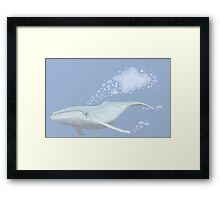 The Whale And The Cloud Framed Print