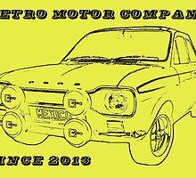 Retro Motor Company - Mk1 Escort Mexico by Remoco