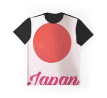 Japan Rising Sun vintage style travel poster  Graphic T-Shirt