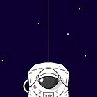 The Astronaut In The Sky by crabro