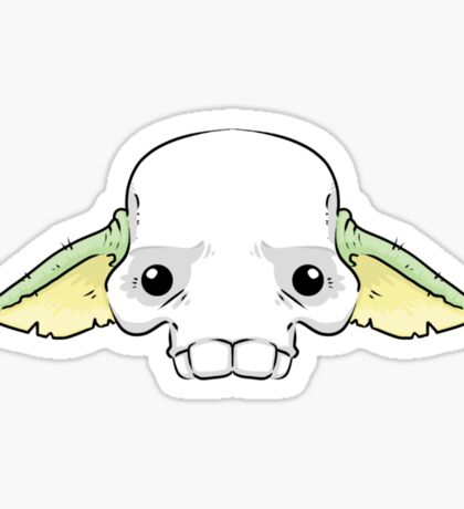 Yoda Skull Sticker