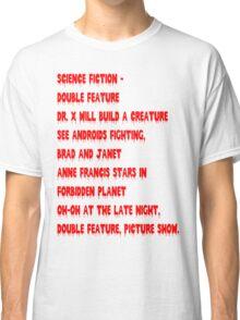 Science Fiction-Double Feature Classic T-Shirt
