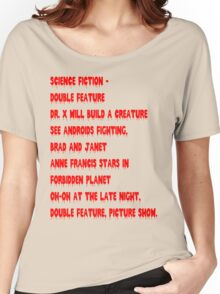 Science Fiction-Double Feature Women's Relaxed Fit T-Shirt