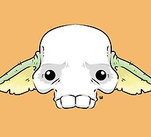 Yoda Skull by crabro