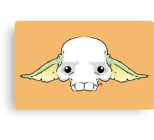 Yoda Skull Canvas Print
