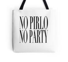 No Pirlo, No Party Tote Bag