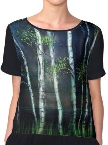 Birch Grove Chiffon Top