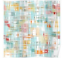 """Abstract pattern graphics """"Mirage """". Poster"""