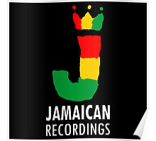 Jamaican Records Poster