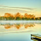 Fox River Fall by Roger Passman