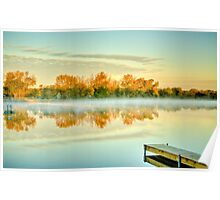 Fox River Fall Poster
