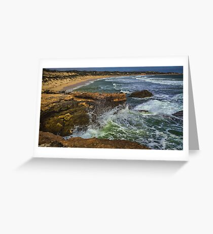 Robe Seascape Greeting Card