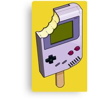 Game Boy Ice Cream Canvas Print