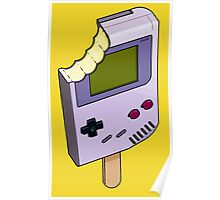 Game Boy Ice Cream Poster