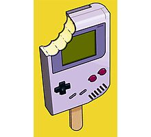 Game Boy Ice Cream Photographic Print
