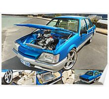 Paul's Holden VK Commodore Poster