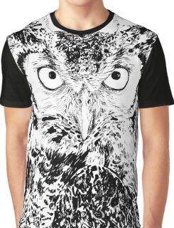 Big owl Graphic T-Shirt