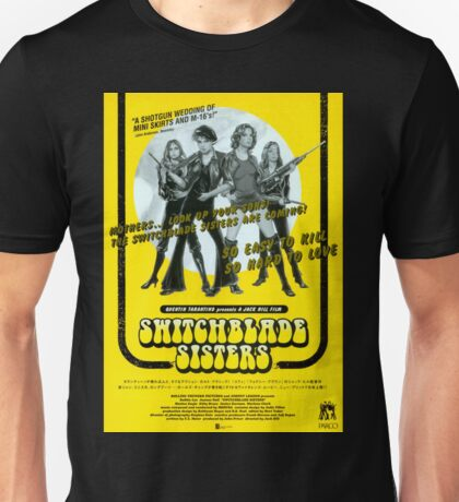 Switchblade Sisters Unisex T-Shirt