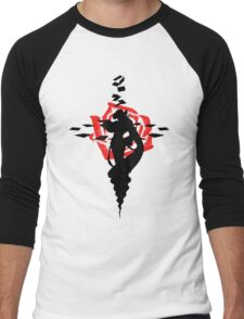 Twisted Fate Rose Men's Baseball ¾ T-Shirt
