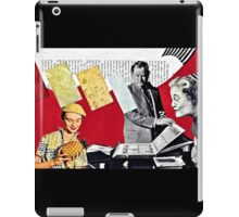 Complacencies of the Peignoir, Full Stop iPad Case/Skin