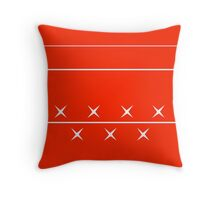 Schumacher Helmet Throw Pillow