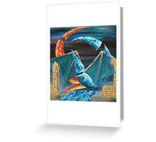 Abstract of Colours Greeting Card
